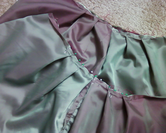 Picture of Pleats, Pleats and More Pleats