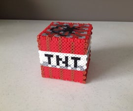 How to make a 3D block of TNT