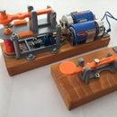 3D Printed Telegraph Key & Sounder