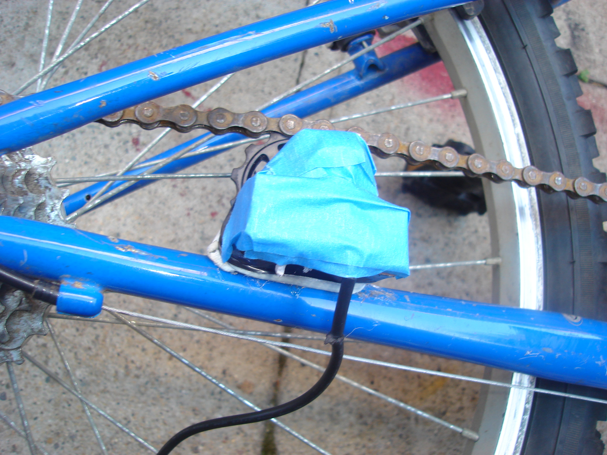 Picture of Bike That Charges Your Cell Phone As You Ride!