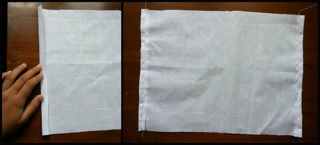 Preparing the Lining Fabric