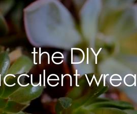 DIY: Make Your Own Succulent Wreath