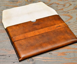 Custom Leather Laptop Sleeve