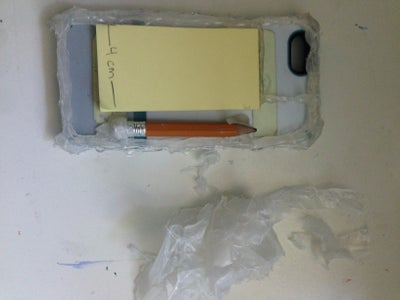 Remove the Wax Paper