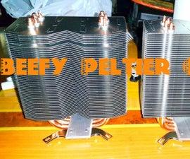 Making a beefy Peltier cooler!