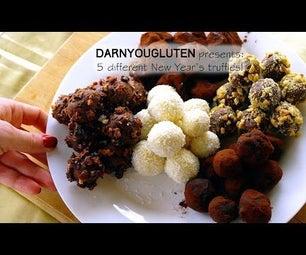 5 Chocolate Truffles to Start the New Year Right! (GF)