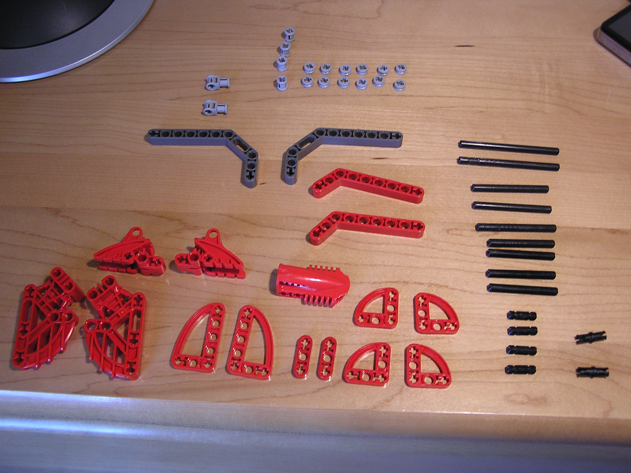 Picture of Parts Required