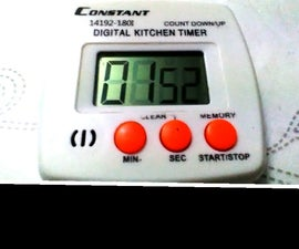 Fix your kitchen timer!