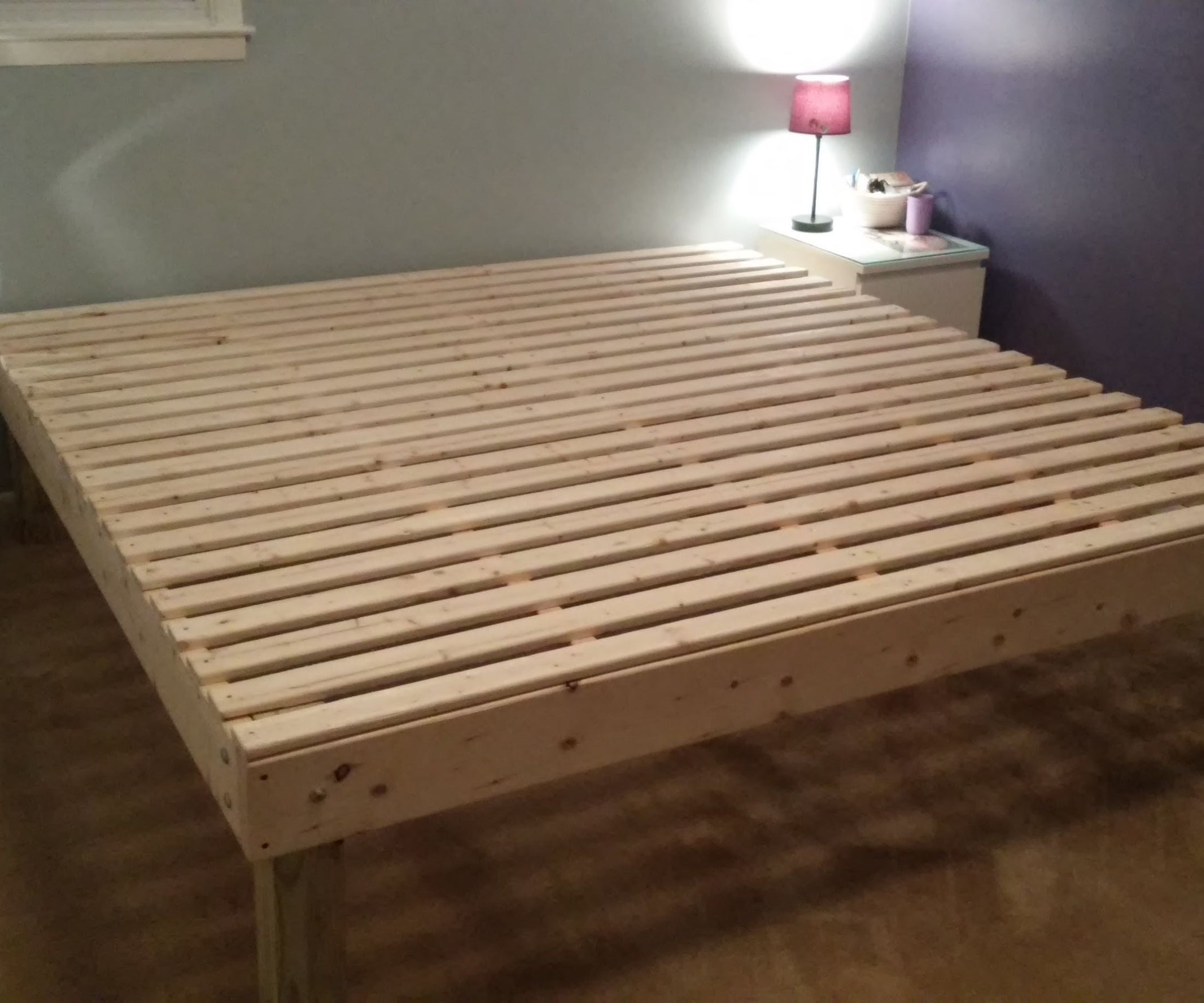 Foam Mattress Bed Frame For Under 100 9 Steps With