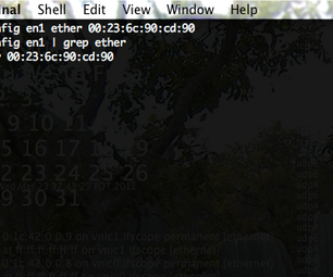 How to Change Your MAC Address (Snow Leopard)