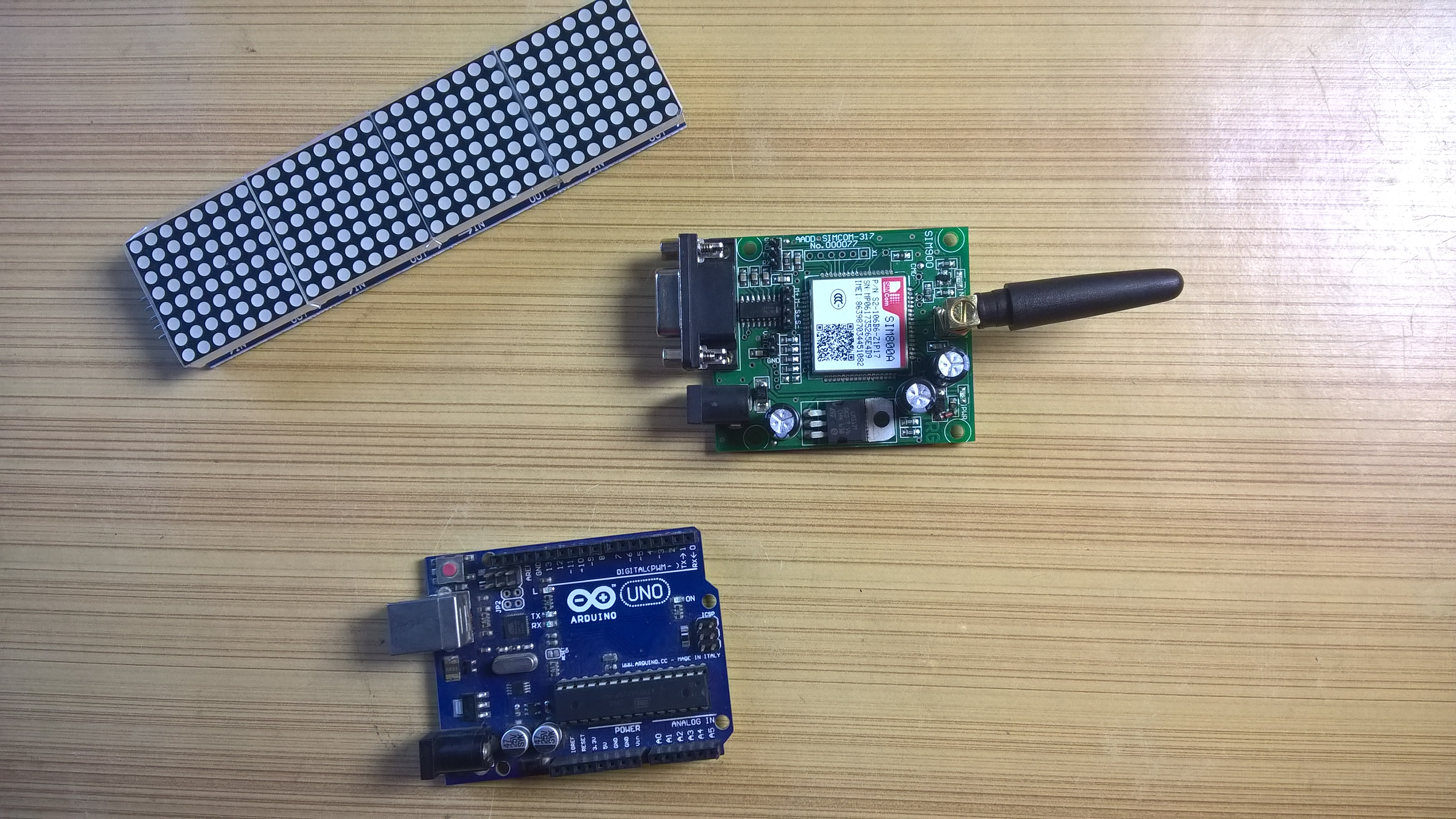 Picture of GSM Module: Smaller One or Bigger One?