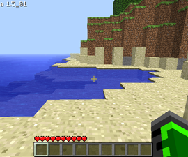 How to make a floating island in minecraft