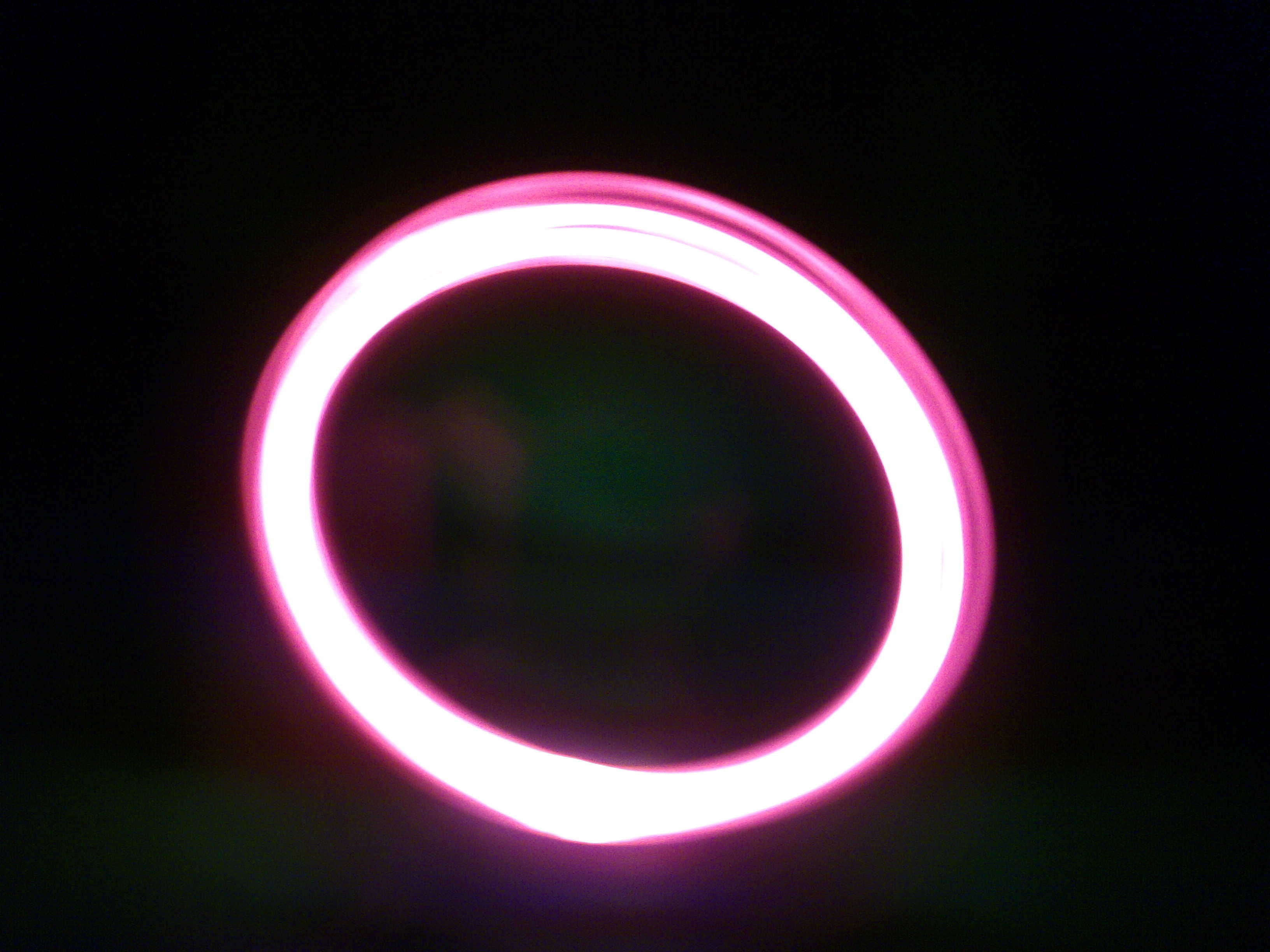Picture of Spinning LEDs (or LED Lit Fan)