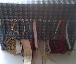 Upcycled Toner Box Into Ribbon Holder