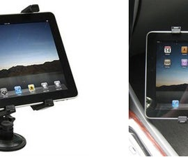 IPAD CAR HOLDER for safety, secure, and space