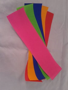 Colourful Paper Strips