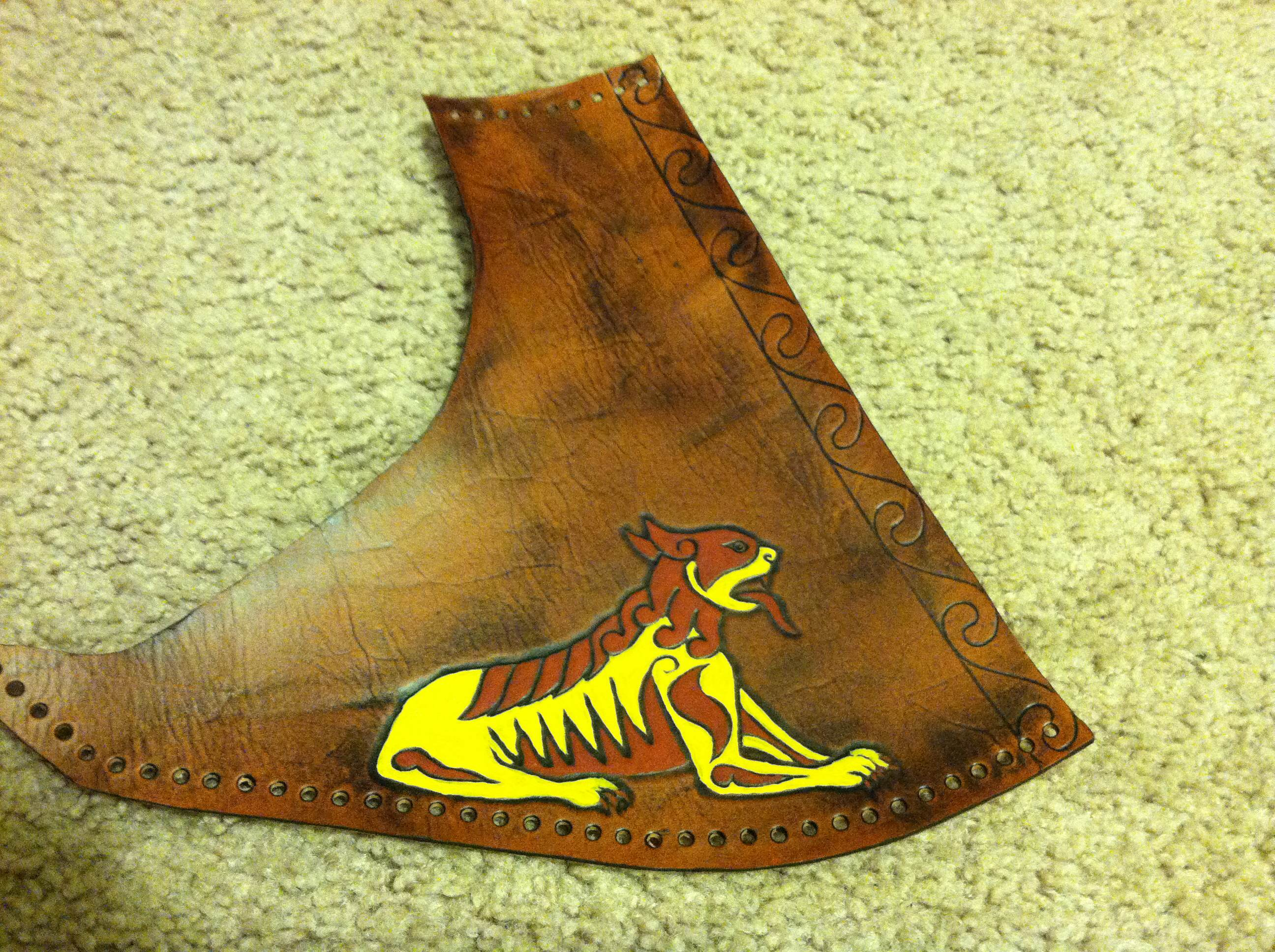 Picture of Leather Finishing