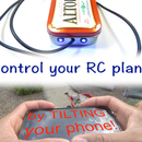 Control Your RC Plane With Your Phone's Acclerometer