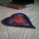 Cardboard Eggshell Heart