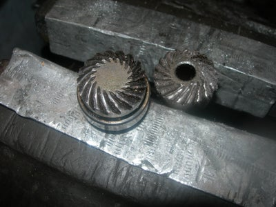 The Damaged Bevel Gears