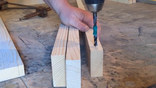 Marking the Joints, Gluing and Clamping.