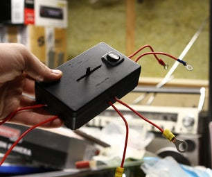 Universal Box for Flashing LED's to Music