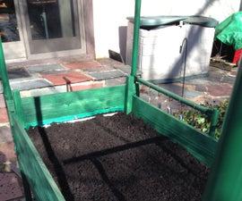 Portable Garden on Wheels