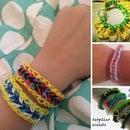 DIY bracelets on loom
