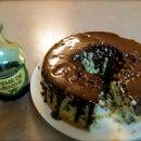 Creme De Menthe Cake