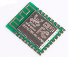 Realtek RTL8710 Alternative to ESP8266....