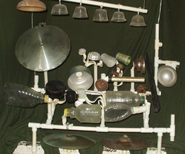A PERCUSSION INSTRUMENT -- using found objects