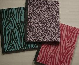 Wild Animal Print Notebooks
