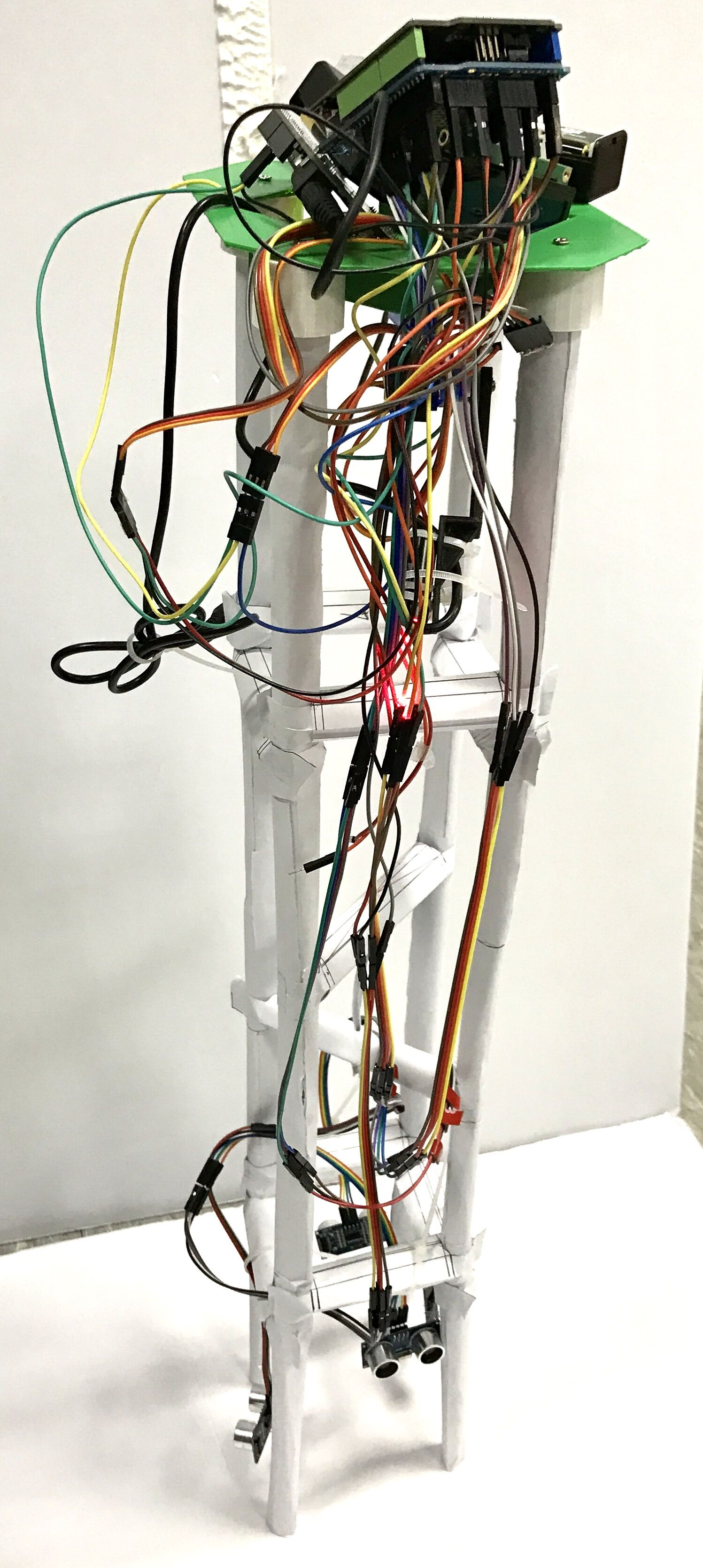 Picture of Final System View & Troubleshooting