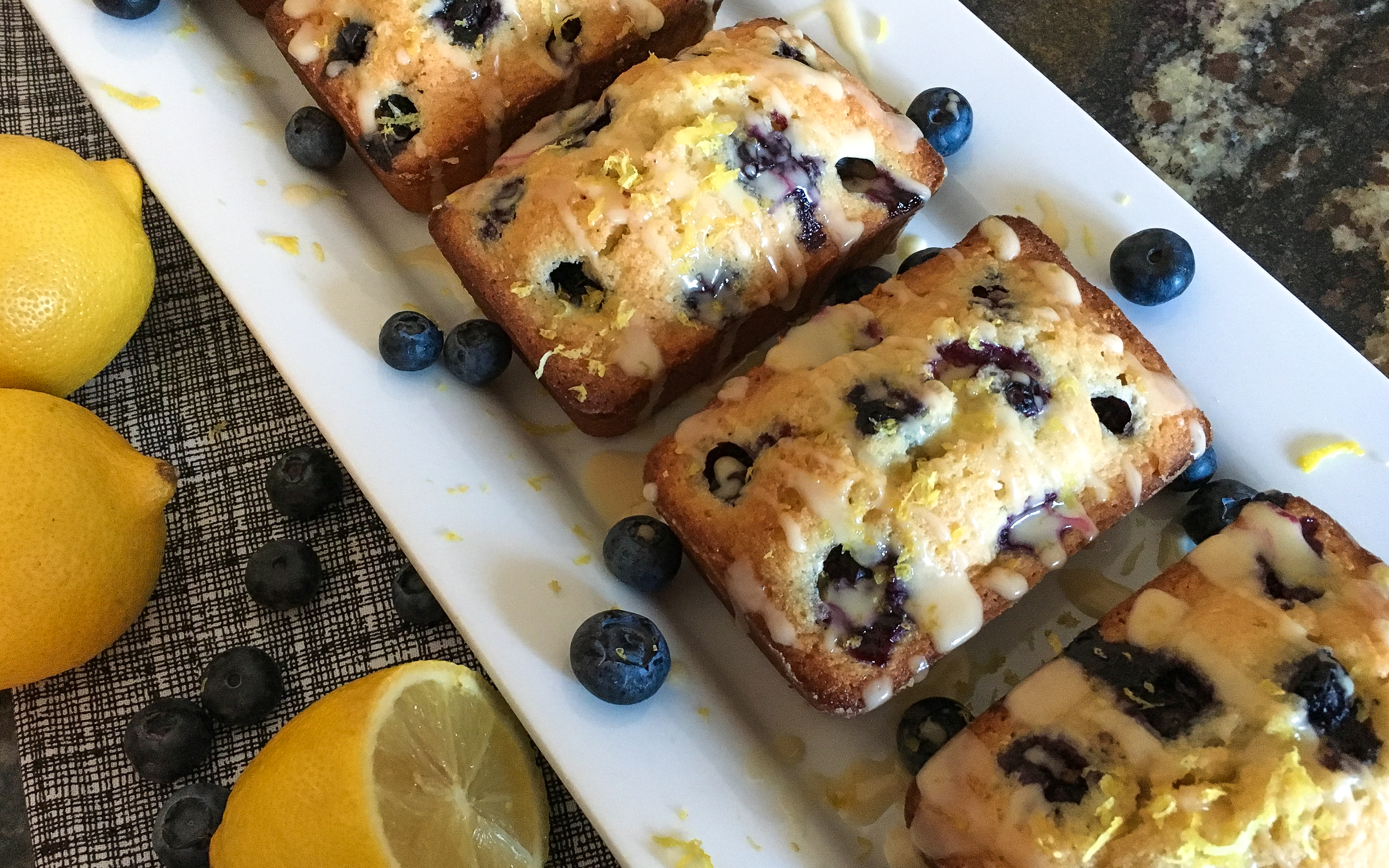Picture of Blueberry Lemon Financiers