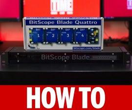 Simple Raspberry Pi Cluster Server Using Bitscope Blade Rack