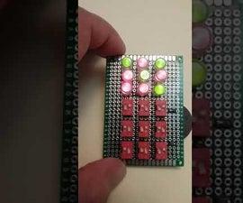 RG LED Tic Tac Toe