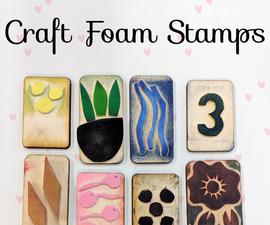 Craft Foam Stamps