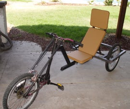 Our Dog's $100 Recumbent Trike