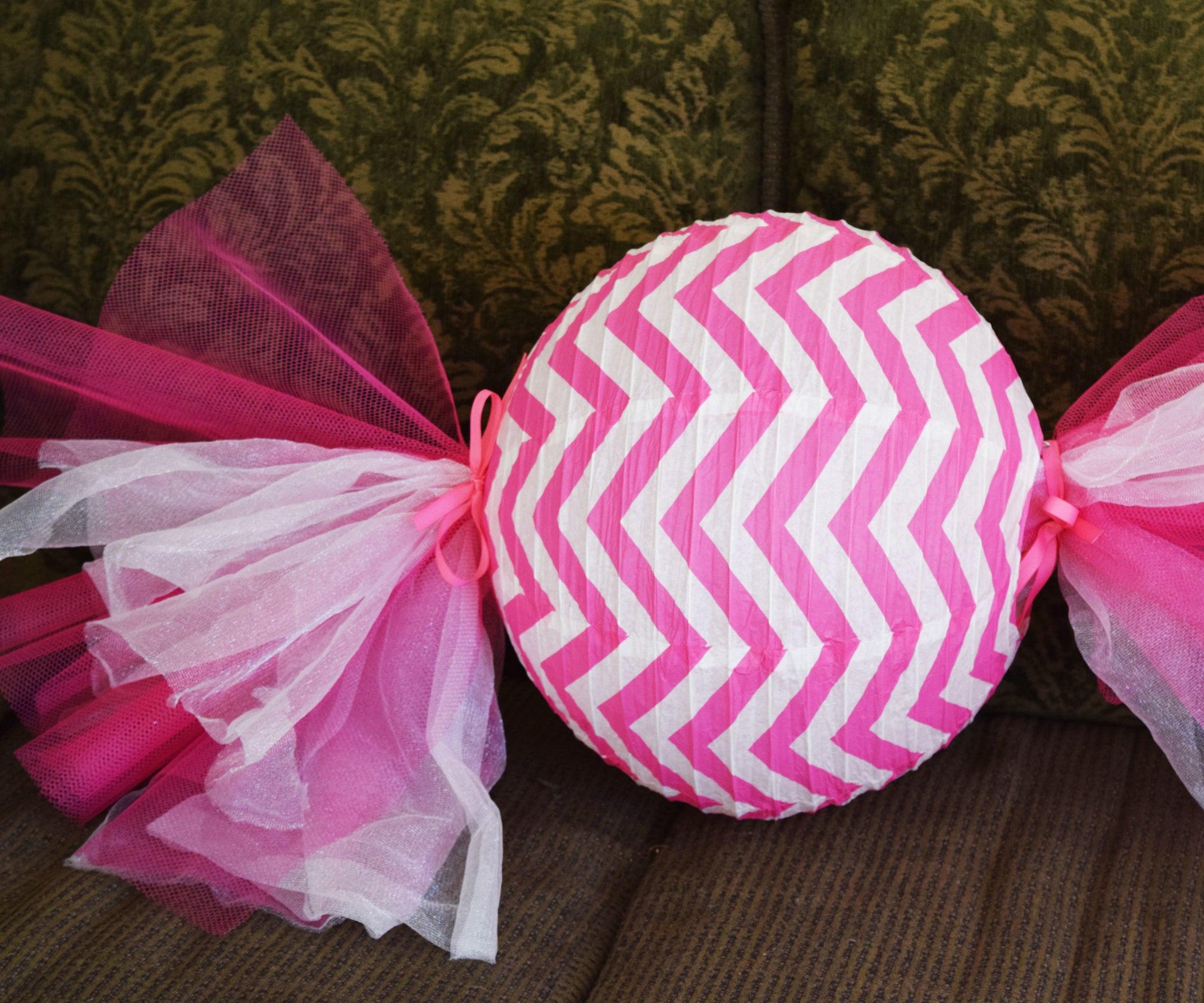 DIY Decorative Candy Paper Lantern Tutorial