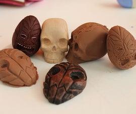 Carve an cast chocolate treets