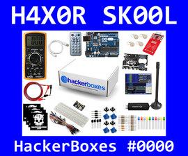 HackerBoxes 0000: DC Circuits, Software Radio, RFID, Infrared