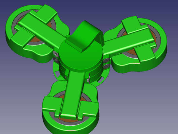 Adjustable Speed, Frame-grabber Spinner