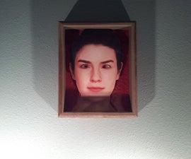 Scary Eye Following Portrait