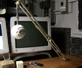 Professional studio boom for microphone