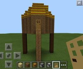 Link Hut In Minecraft