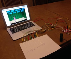 Combining MakeyMakey, CircuitScribe and Scratch to Create Art