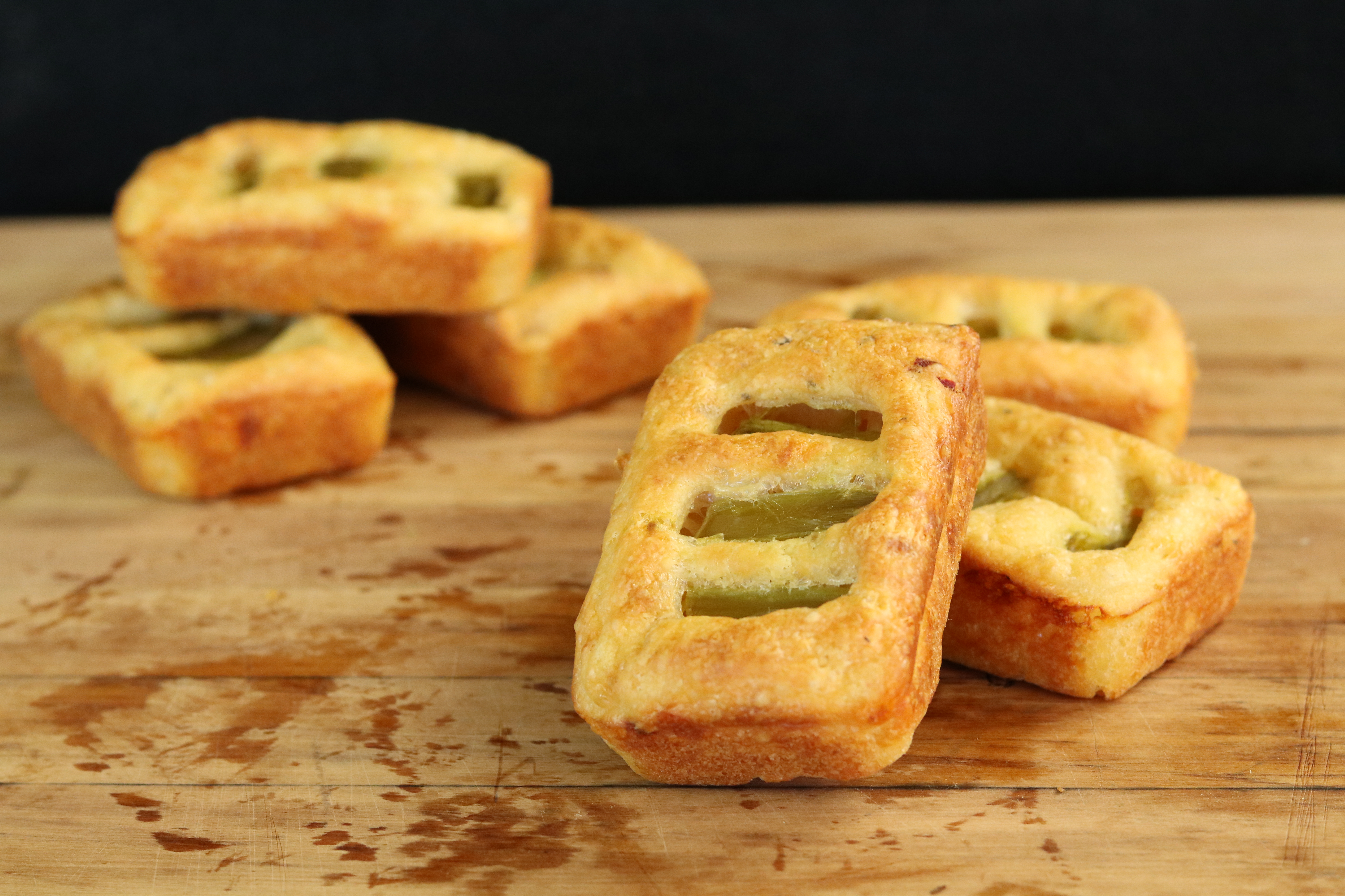 Picture of Cheese Grills With Asparagus Filling