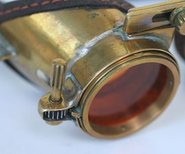 "Steampunk goggles ""ZoomEye"""