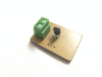 Solder 1K Resistor