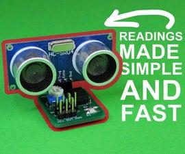 HC-SR04 Reader Module to Relieve Arduino